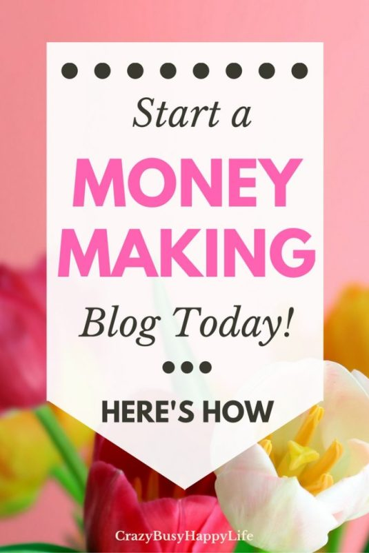Learn how to start your own making making blog. A blog is a great way to earn side income, work at home, and be your own boss. Follow this step-by-step guide to getting your own blog set up in minutes.