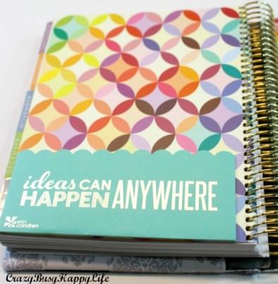 Erin Condren Life Planner horizontal layout review