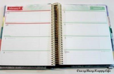 Erin Condren Life Planner horizontal layout