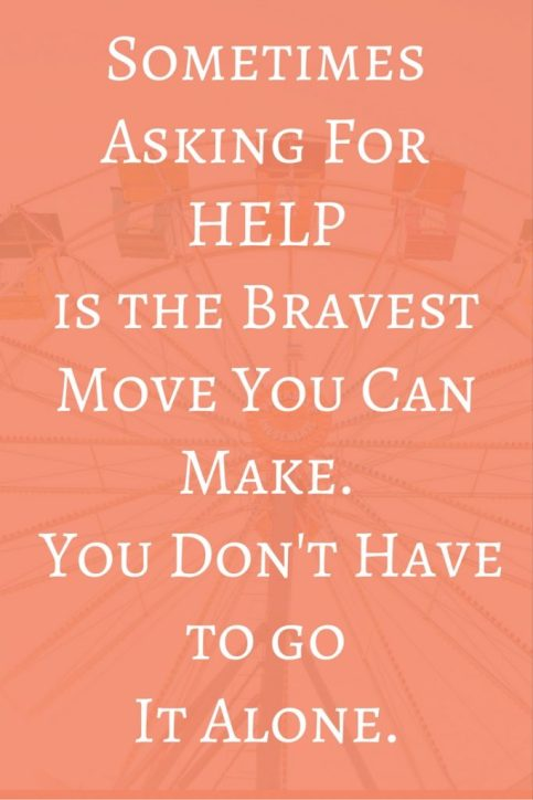 Sometimes asking for help is the bravest move you can make. You don't have to go it alone. - These are great words but for some of us, it's hard to reach out and ask for help. If you really stop and think about it though, everyone needs help. Even super successful people hire people to help them. This post is all about learning to ask for help so that you can lead a happier, more productive life. It's okay to ask for help sometimes. http://www.crazybusyhapylife.com