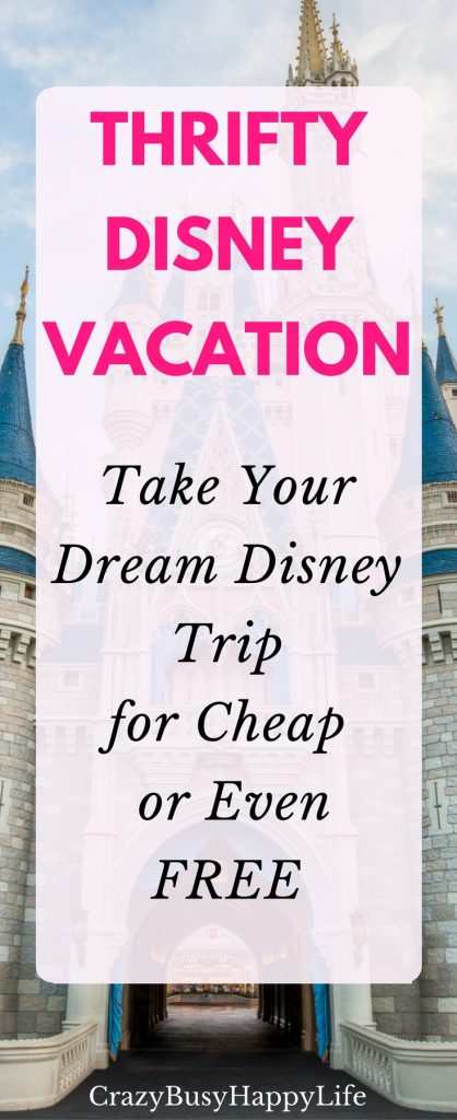 Yes you CAN take your family on a dream Disney vacation. Here's how you can take your Disney trip for cheap or even free. Offers tons of advice on getting the best deals, how to save money, and how to plan your thrifty Disney trip. Click through to read more or pin now and read later.