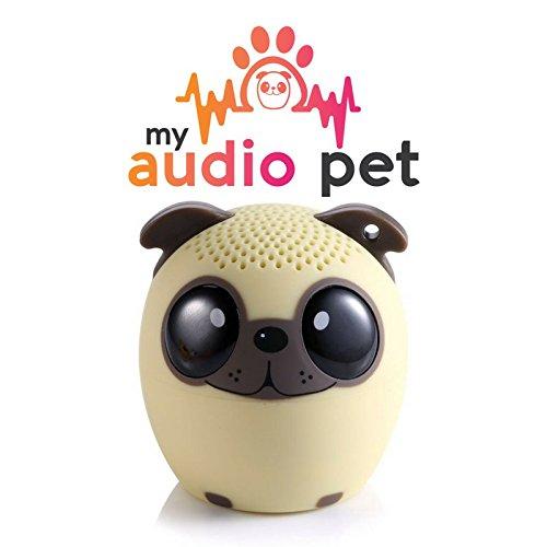 Pug dog speaker. Gifts for pug lovers.