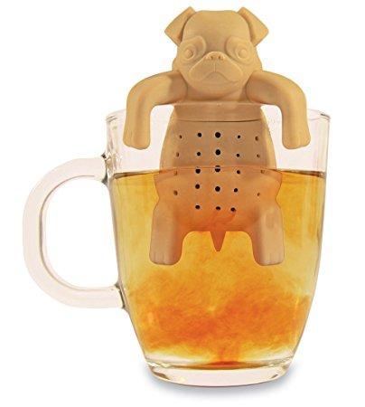 Pug Dog Tea Infuser. Best fits for pug lovers.