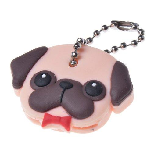 Pug key cover. Pug stuff for pug lovers