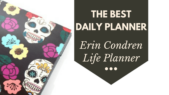 The Erin Condren Life Planner is the best daily planner for staying organized.