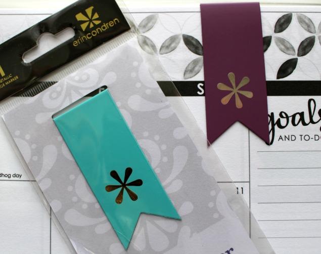 Erin Condren Life Planner magnetic tabs