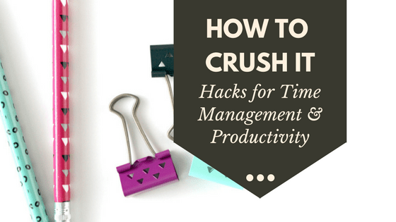 How Productive Women Crush Time Management and Get So Much Done