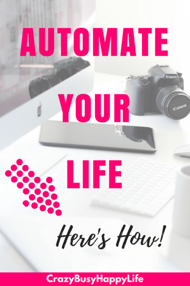 Automate everything from saving for retirement, to paying bills, even staying in touch with family #productivity #planning #organize #life
