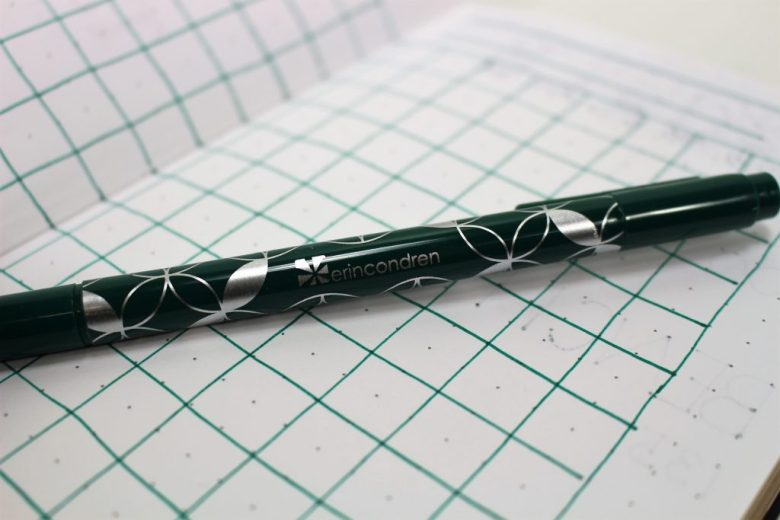 Erin Condren dual tip marker for bullet journal