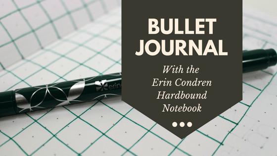 Erin Condren Hardbound Notebook bullet journal