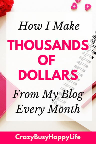 How I make thousands from my blog every month. Make money blogging using affiliate links. learn how #blogging #makemoneyblogging #affiliatelinks #howtoblog #makemoney #workathome #makemoneyfromhome