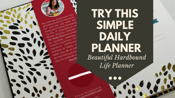 Erin Condren Hardbound Lifeplanner - blank calendar daily planner