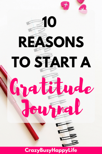 10 reasons to start or grow a gratitude journal. A gratitude journal can help with self esteem and happiness, #gratitude #erin condren