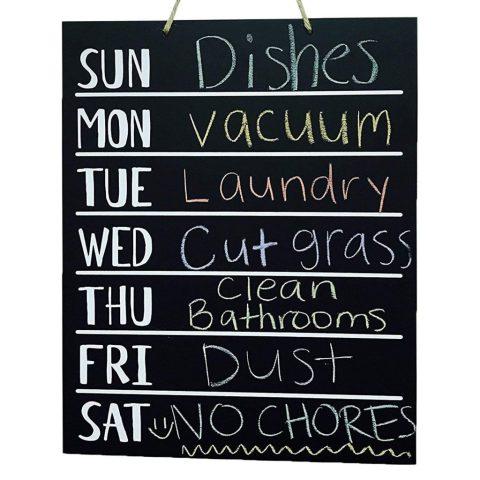 Busy Mom Chalkboard Planner