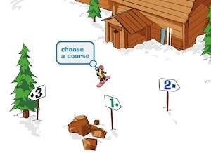 2d snowboard