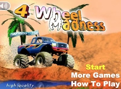 4 wheels madness