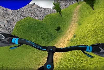 MTB Hill Biker Rider