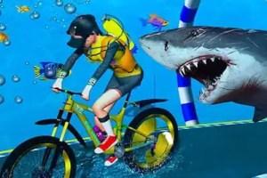 underwater cycle
