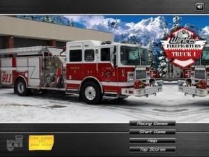 Firefighter truck
