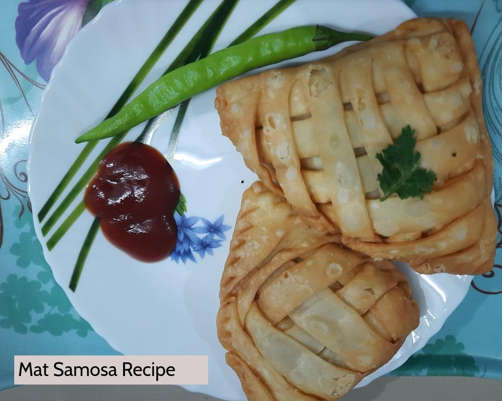 How to make Mat Samosa Recipe