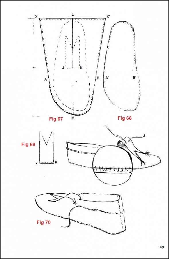 Native American Moccasins, A Craft Manual, by George M