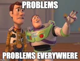 problemi ovunque