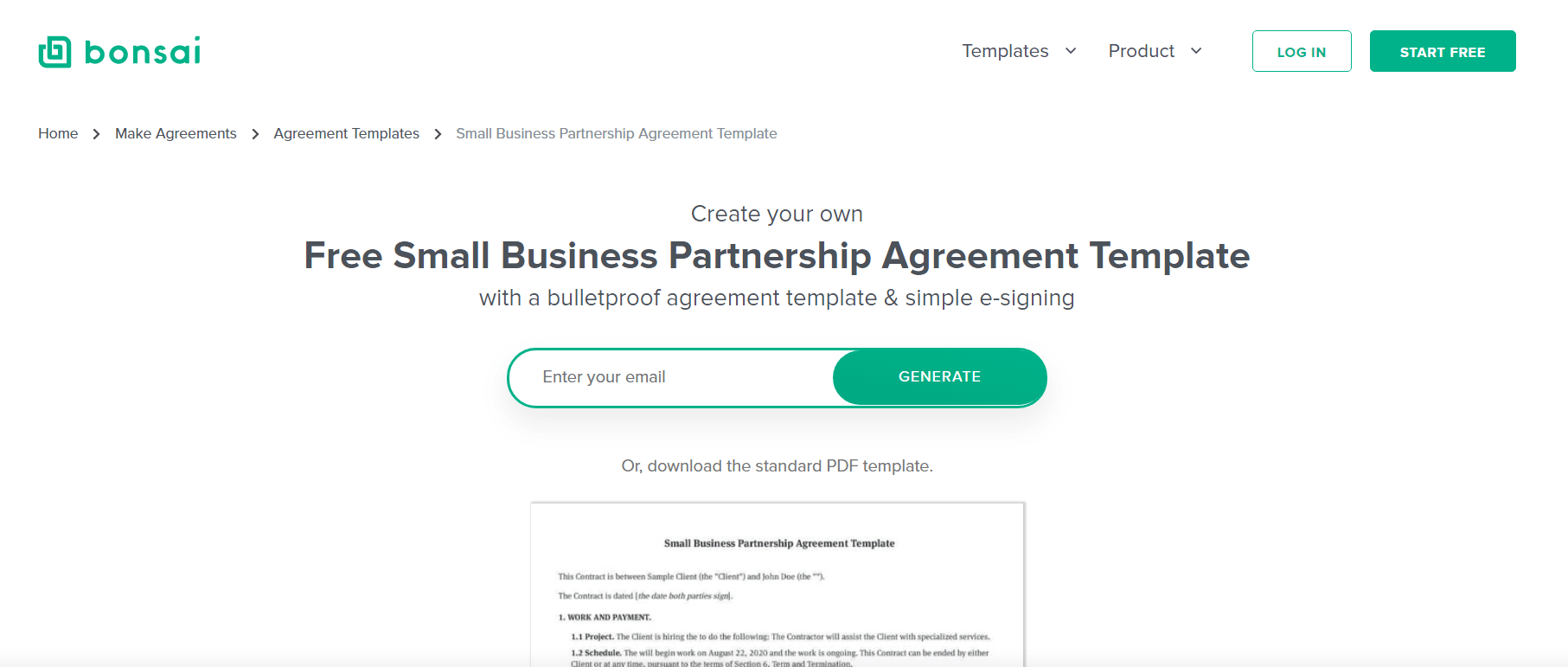 Cooperative agreement template use this cooperative agreement or memorandum of agreement can be used to legally lay out the steps toward an agreed upon result. The Complete Guide To Business Partnership Agreements