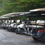 Golf Carts that you can rent.