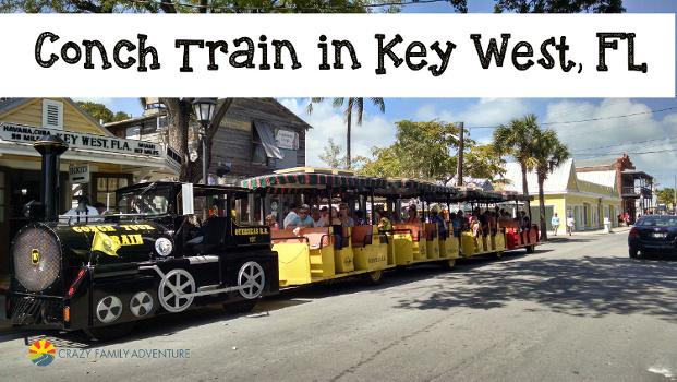 Chugga-Chugga Choo-Choo jump on the Conch Train in Key West