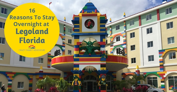 16 Reasons to stay overnight at Legoland Florida