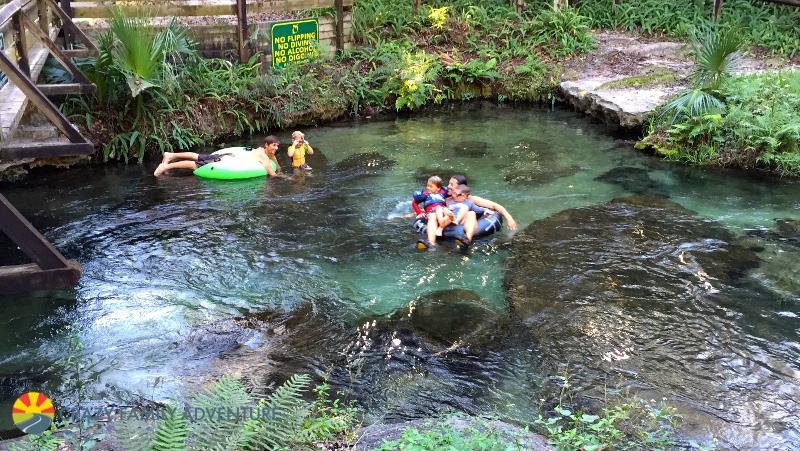 Family tubing by Orlando