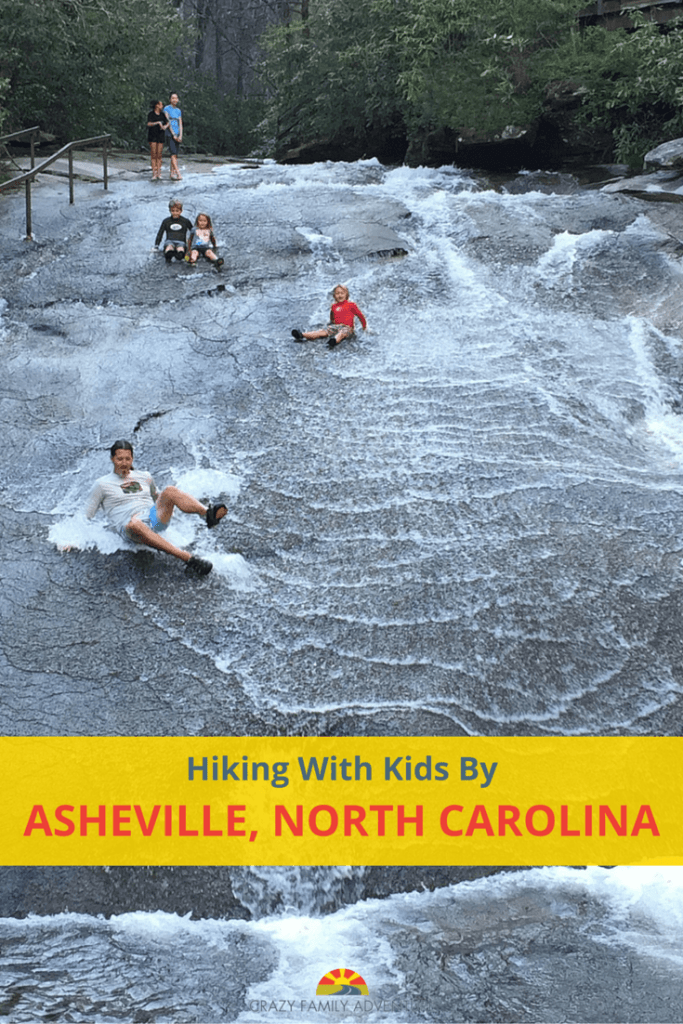 Hiking with kids in Asheville, North Carolina