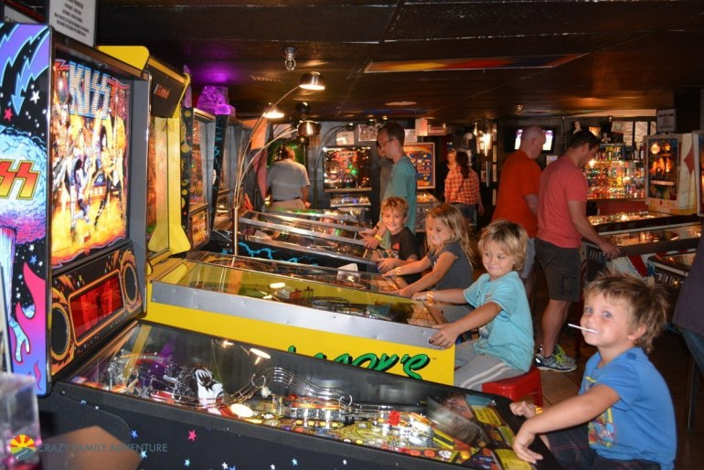 Asheville Pinball Museum is a great thing to do with kids In Asheville