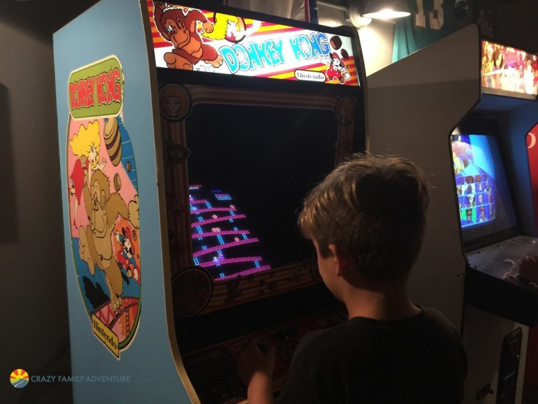 Loving the old school arcade games!