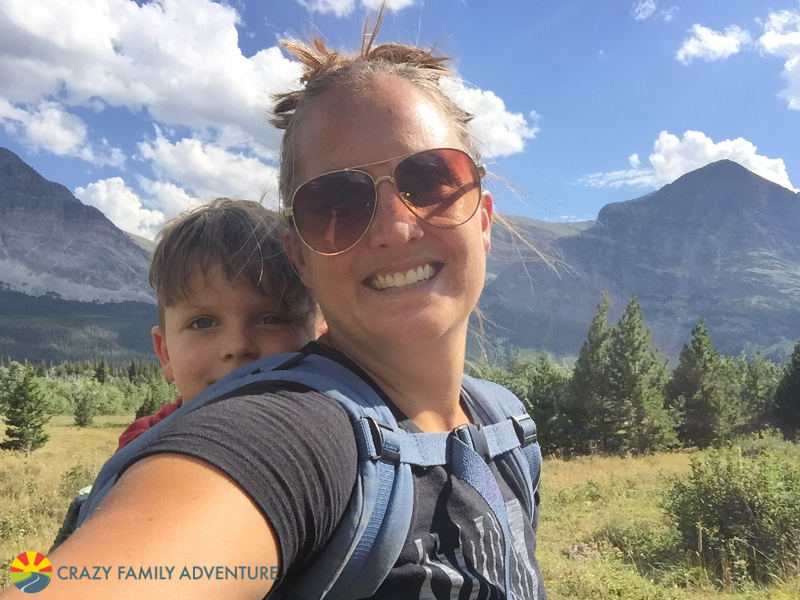 Hiking with Kids Ergo