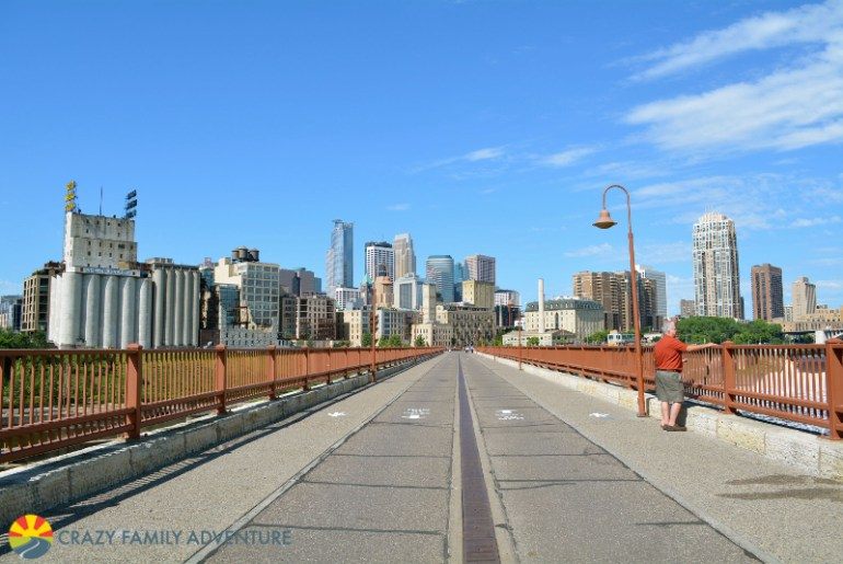 Things to do in Minneapolis with kids - Stone Arch Bridge