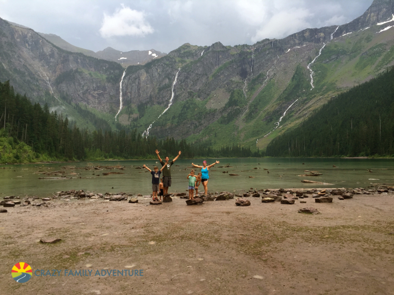 Stoked that we made it to Avalanche Lake!