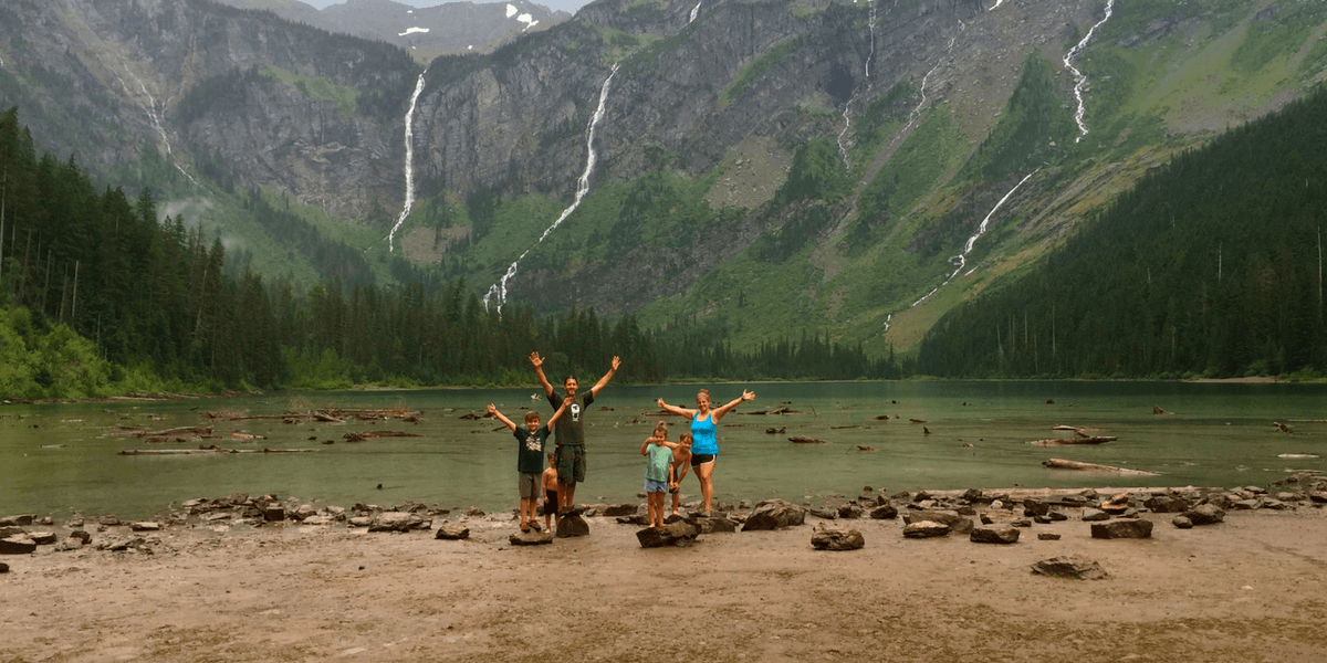 Best Hikes In Glacier National Park With Kids