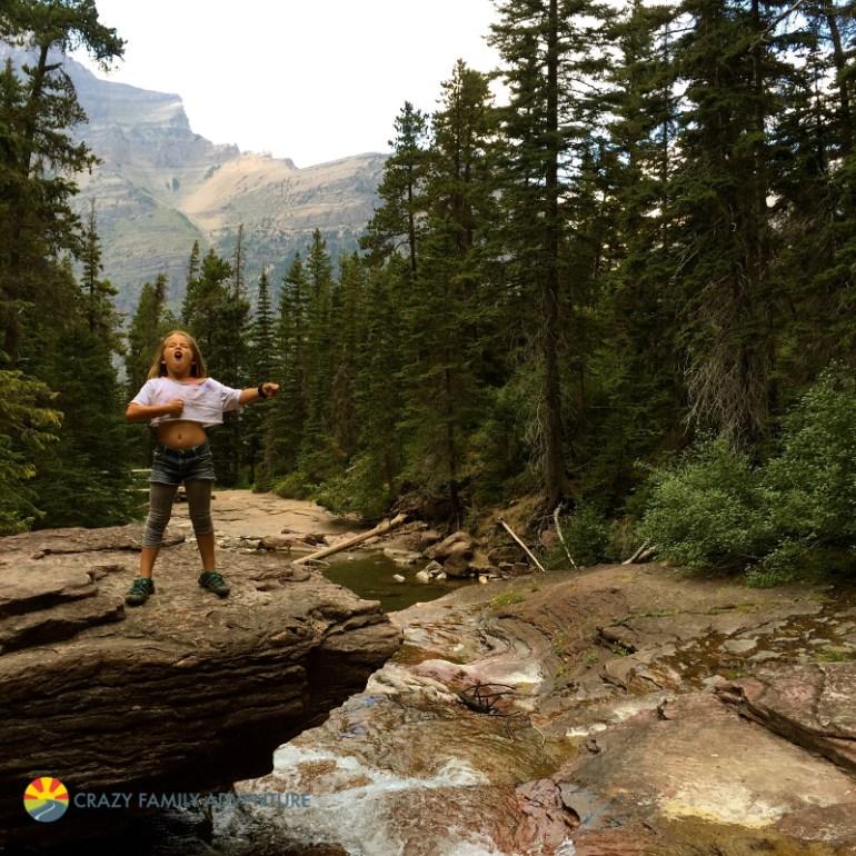 Feeling wild in Glacier National Park