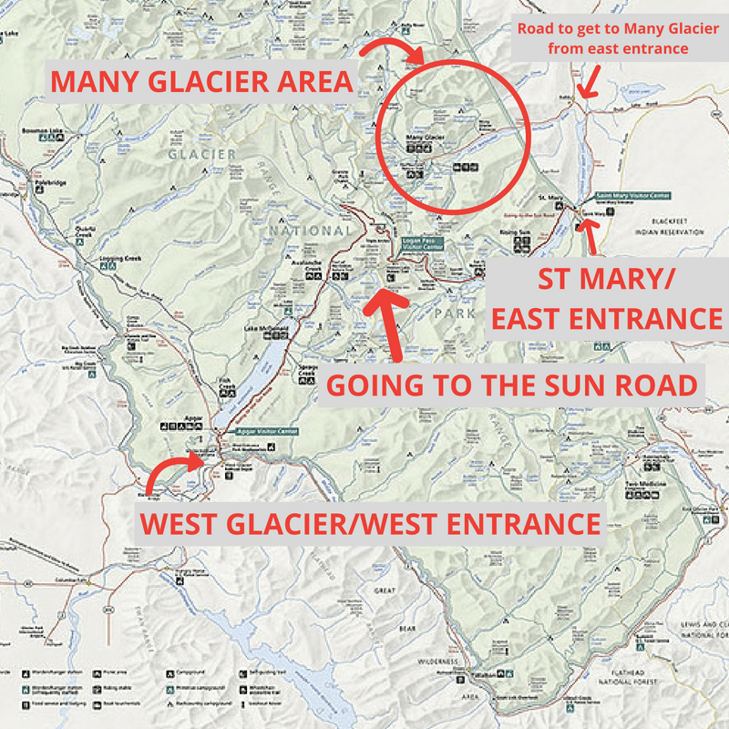 Worksheet. 7 Awe Inspiring Things To Do In Many Glacier in Glacier National