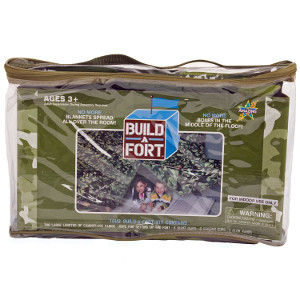 Fort Building Kit - #4 on the list of Top 10 Gift Ideas For Homeschoolers