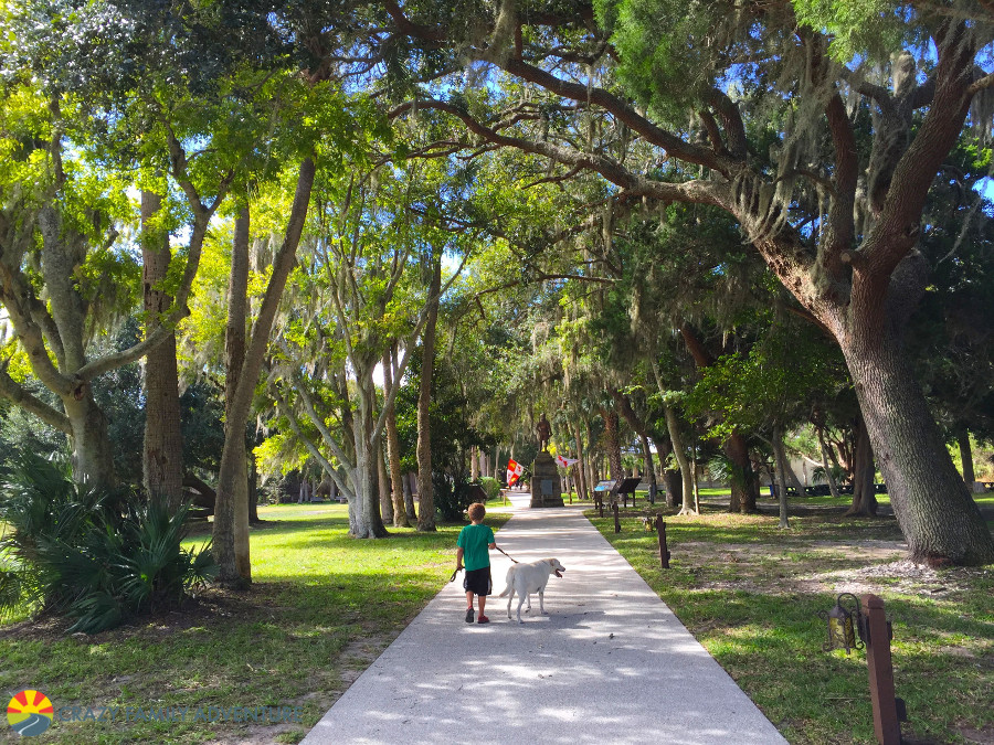 Feel young again at the Fountain Of Youth in St. Augustine on The Ultimate Florida Road Trip