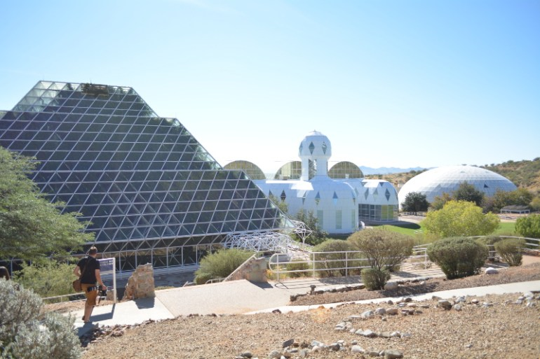 Biosphere 2 was one of the great things to do in Tucson with kids