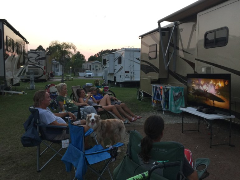 Our own movie theater!