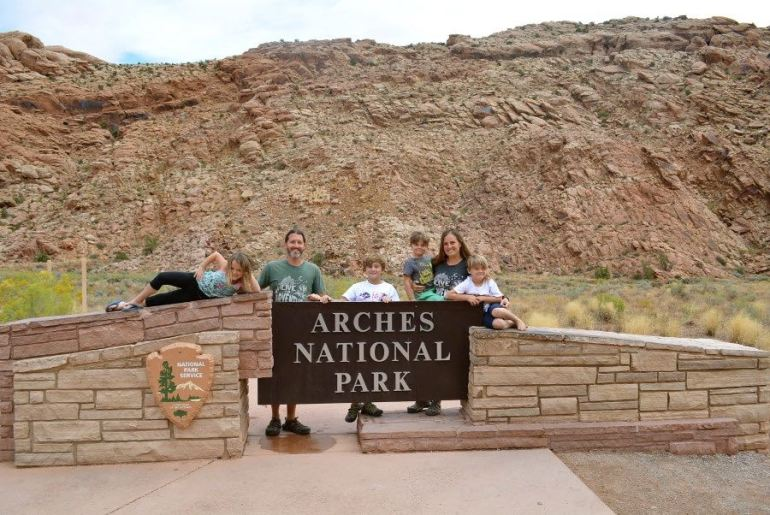 First stop on the Utah road trip is Arches National Park