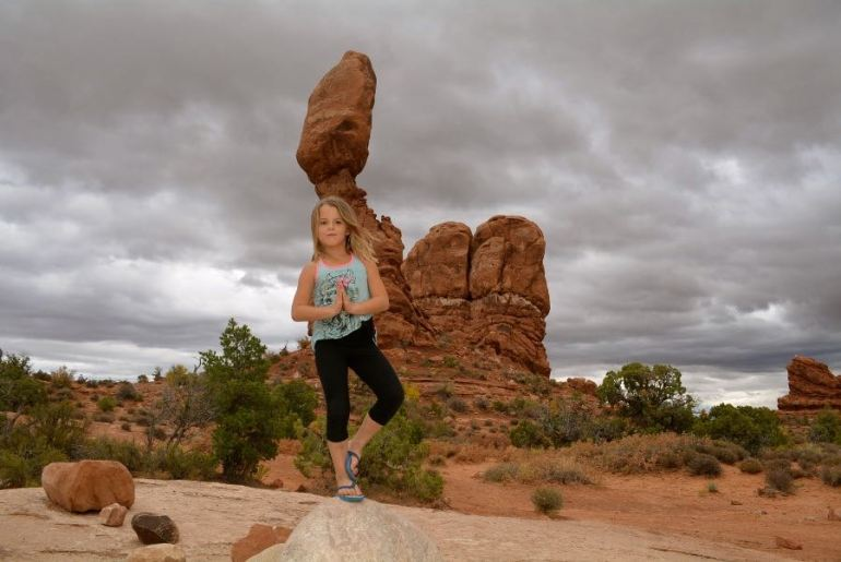 Find your zen at Balanced Rock on the ultimate Utah Road Trip