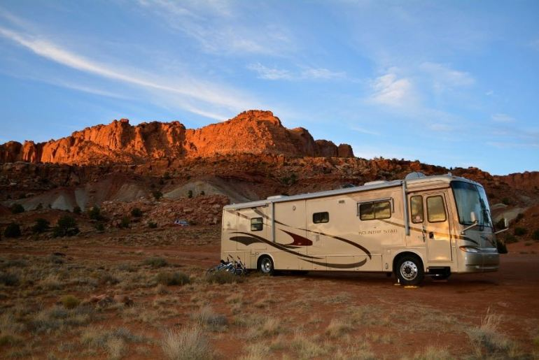 Another great free spot to camp on your Utah road trip
