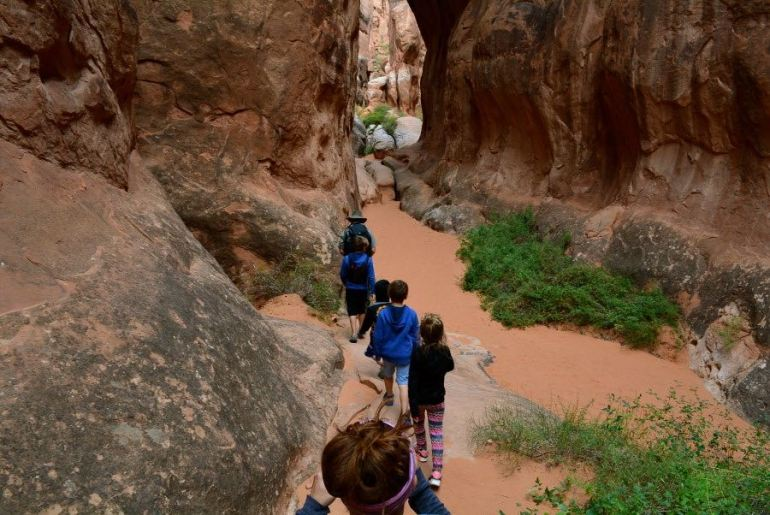 A great Ranger-led hike in Arches National Park