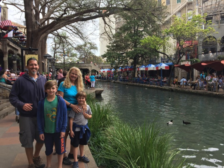 Exploring the Riverwalk is #1 on the list of things to do in San Antonio with kids!