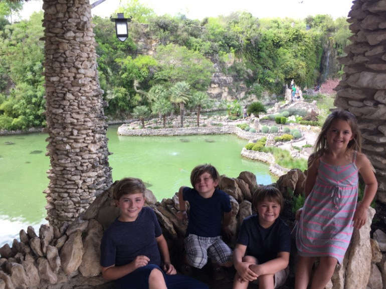We weren't ready for the beauty of this Japanese Tea Garden when visiting Brackenridge Park in San Antonio with kids